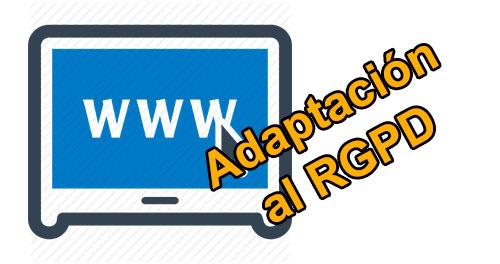 Servicios de Adaptación RGPD de su Web
