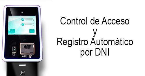 Control de Acceso y Registro automático por DNI